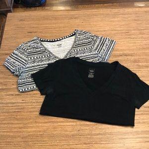 Bundle of 2 XL V-Neck T-Shirts